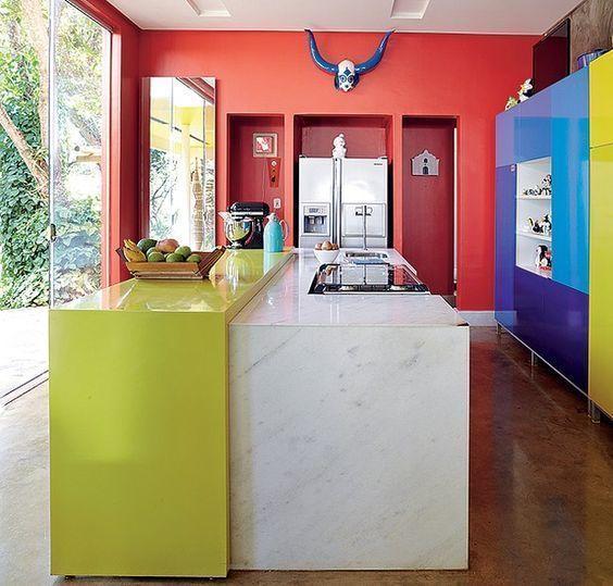 Die Farbe der Küchenwände Pinterest