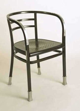 Fresh Armchair by Otto Wagner