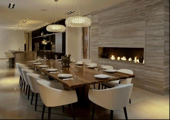 Comedor moderno | Diseño.- Comedores | Beautiful dining rooms ...