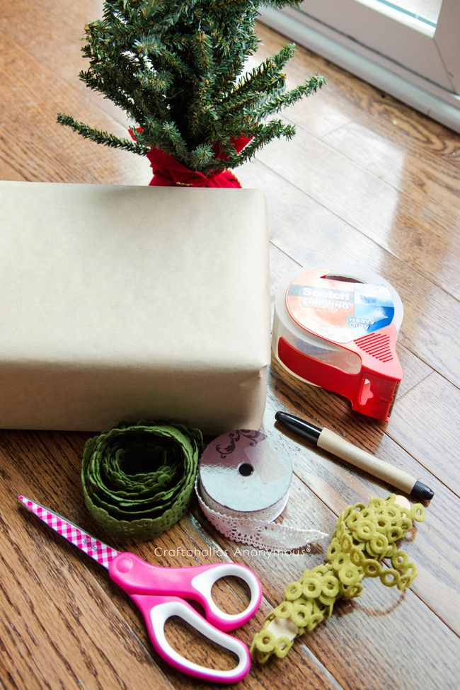 This post is brought to you by Scotch®. All opinions are mine! DIY Holiday Box Packaging Ideas We don't live close to any family, so we have to ship a lot of gifts around the holidays every year. Its always a bummer to not be able to wrap the gi