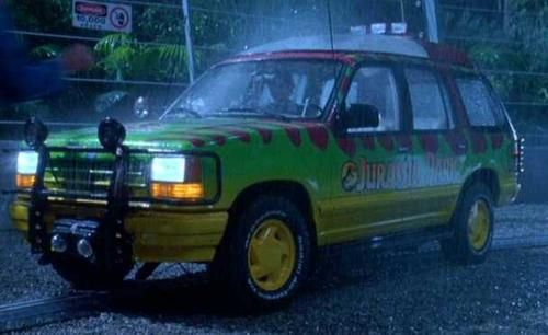 04 Ford Explorer W Glass Top Jurrasic Park Jurassic Park Jeep