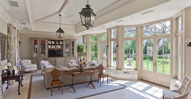 Conservatory Orangery Gallery Conservatory Interior Spacious Living Room Home Decor