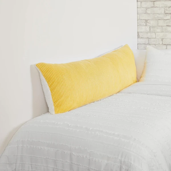 Cozy Cord Body Pillow Cover