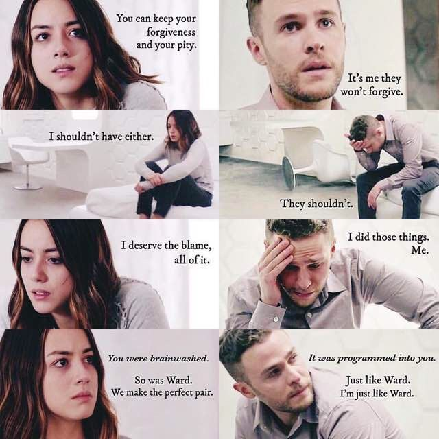 This is why Fitz and Daisy are my favourite characters. They've both been through so much and are so strong and adorable.