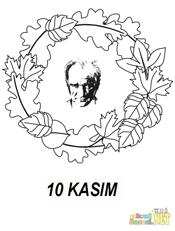 10 Kasim Icin Hazirladigim Yeni Ataturk Cerceveleri Okul Oncesi Net Okul Oncesi Forum Sitesi Boyama Sayfalari Okul Oncesi Okul