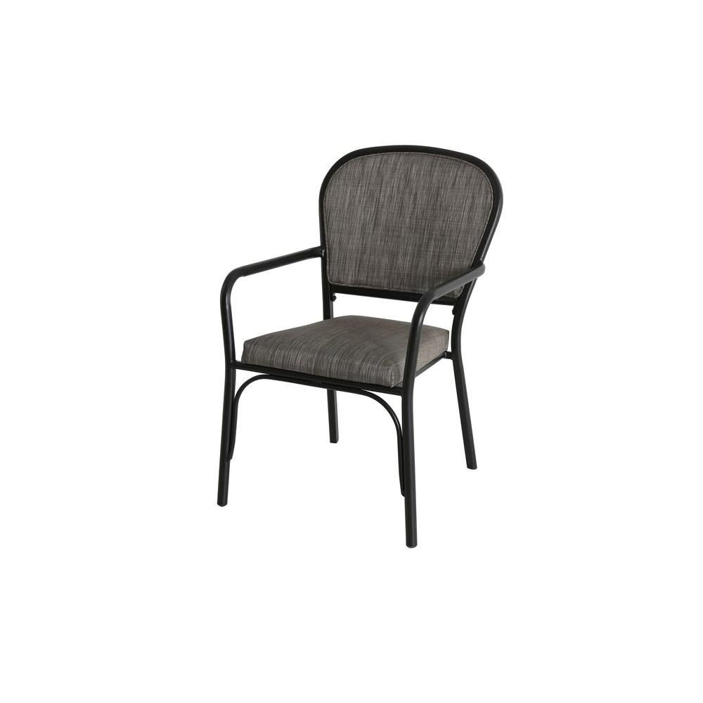 Delicieux Hampton Bay Andrews Sling Stack Patio Arm Chair (2 Pack) FCS60462B   The  Home Depot