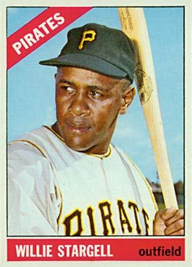 1966 Topps Willie Stargell 255 Baseball Card Value Price Guide Baseball Cards Pirates Baseball Pittsburgh Pirates Baseball