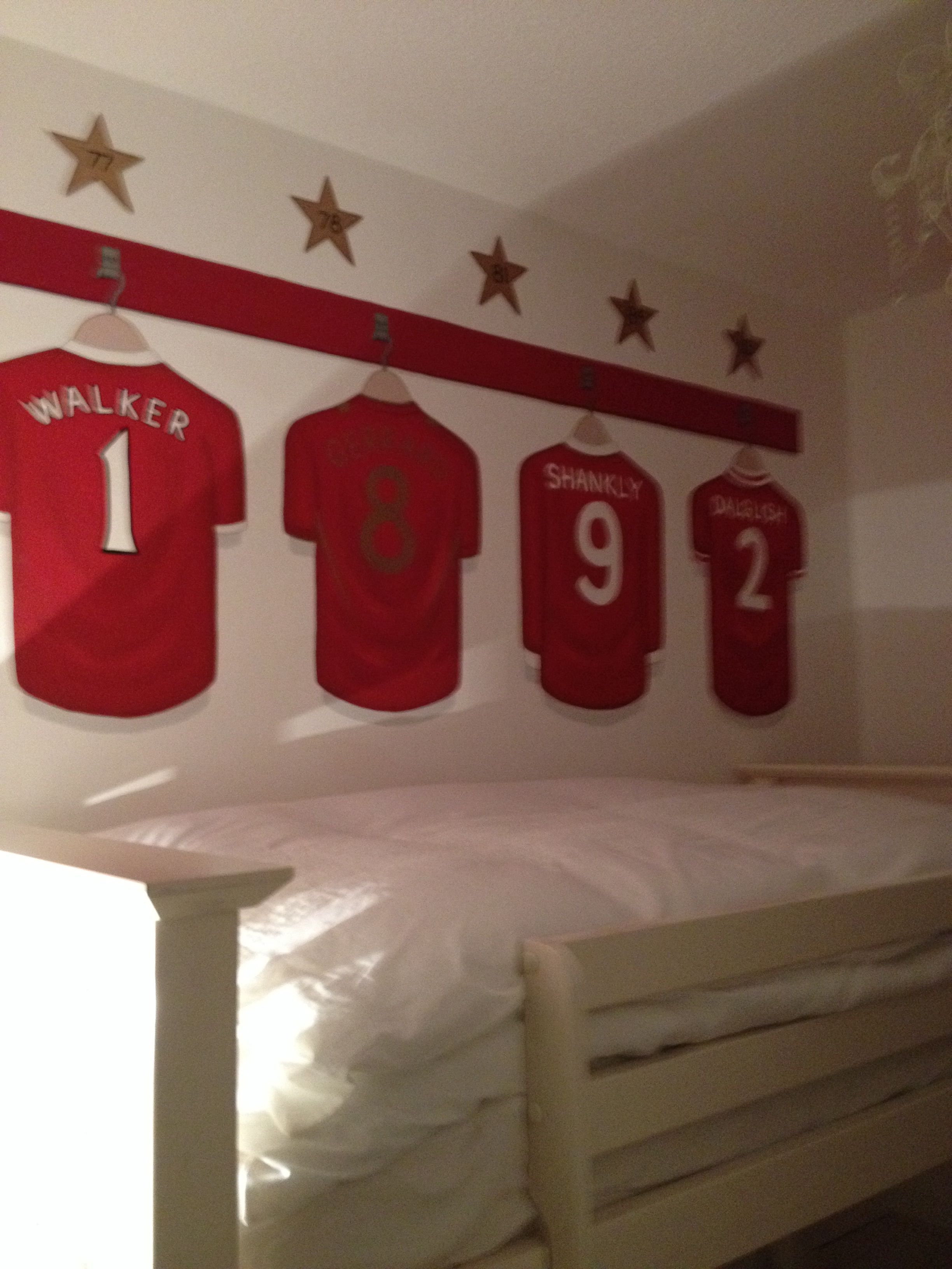 Pictures Wall Decor Ideas My Liverpool F C Wall Art Rooms Basement Pinterest