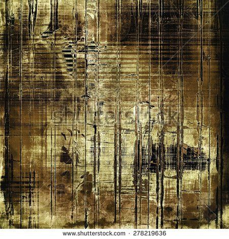 Grunge background with space for text or image. With different color patterns: yellow (beige); brown; gray; black