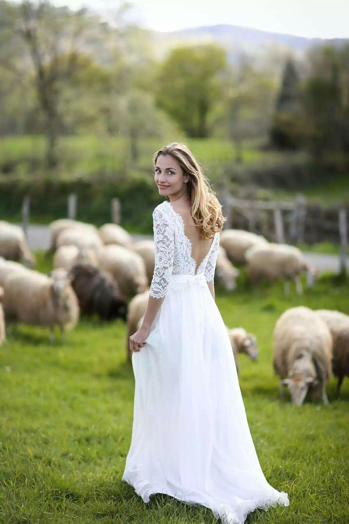 Marie Laporte 17 | Abiti da sposa di chiffon, Abiti da sposa