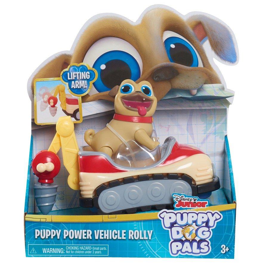 Disney Junior Puppy Dog Pals Stuffed Plush LOLLIE  Disney Jr