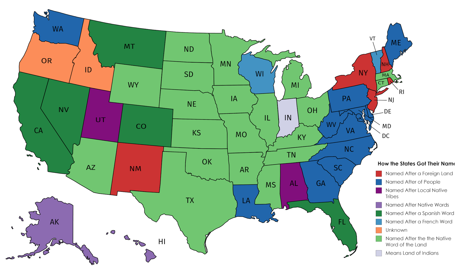 states named after people