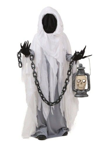This Child Spooky Ghost Costume is bound to scare the living - halloween ghost costume ideas
