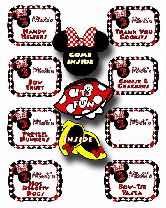 Cheap Invitations Minnie Mouse