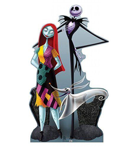 Jack Sally Zero Tim Burtons The Nightmare Before Christmas Advanced - life size halloween decorations