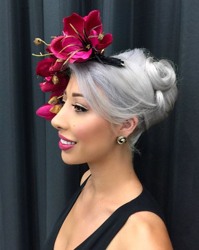 c48168ec2464e Races Hairstyles with Fascinators