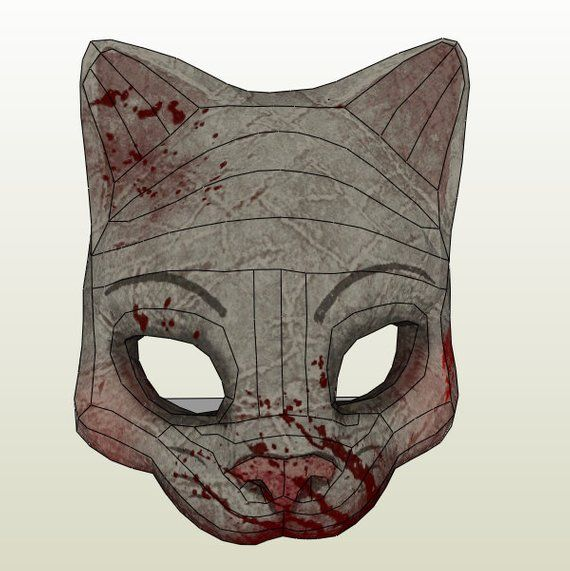 The huntress mask of dbd deadbydaylight game papercraft