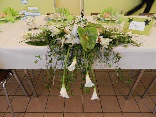 pour table d 39 honneur mariage pinterest tables d. Black Bedroom Furniture Sets. Home Design Ideas