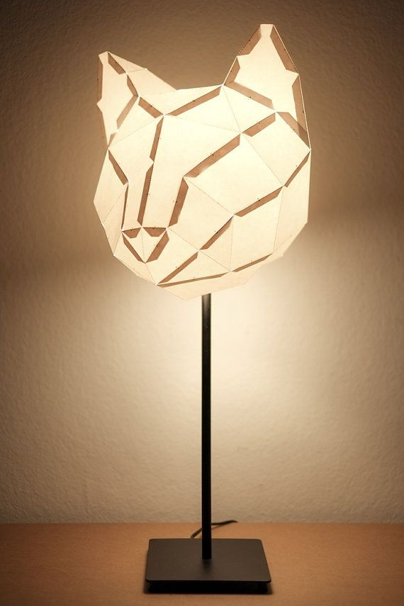 Cat Medium Do It Yourself Paper Lamp Shade Paper Lampshade Paper Lamp Diy Lamp Shade
