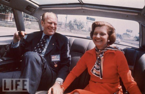 First Lady Betty Ford Amp President Gerald Ford 38th
