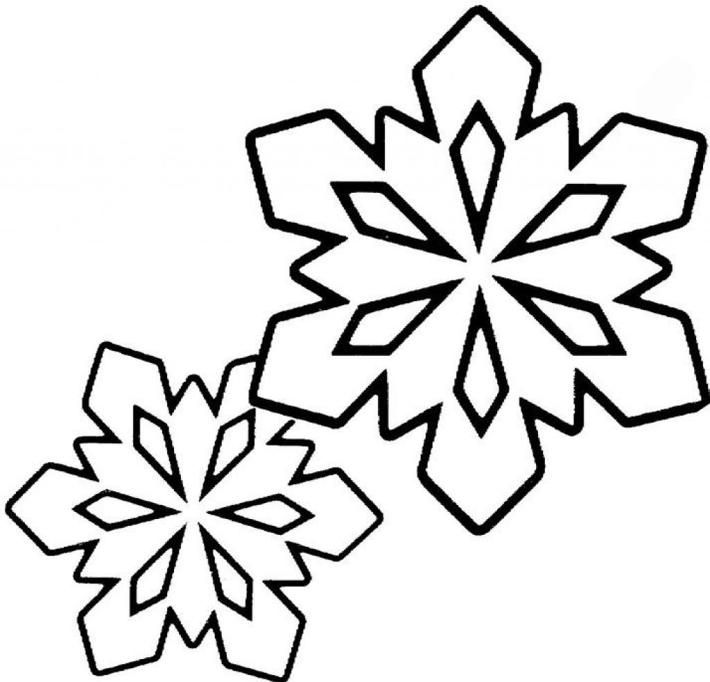 Ten Großartig Schneeflocke Malvorlage Idee 6 in 6