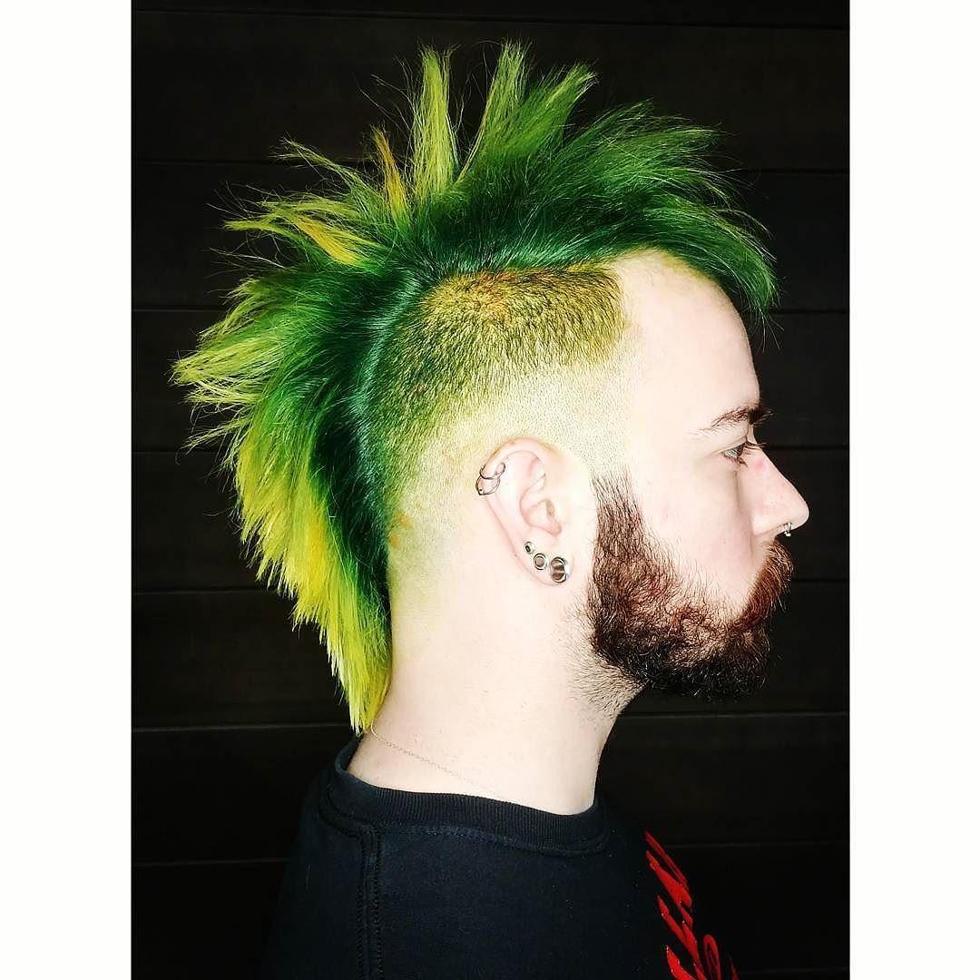 Green dragon hairbycaprica hairinspiration garymanuel