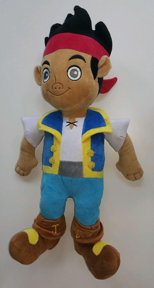 Disney Jake And The Neverland Pirates Jake Plush Stuffed ...