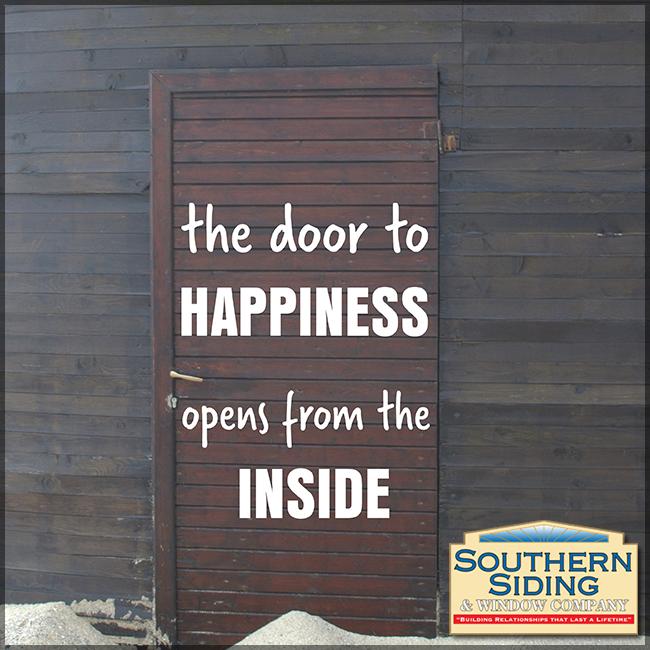 Happiness Siding Doors Signboard