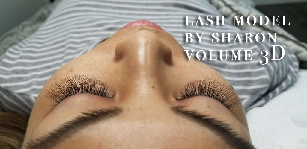 Perfect positioning of lashes gives us the happy feelings