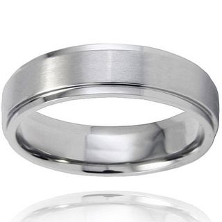 Rob S Replacement Band Men S Brushed And Polished Titanium Ring
