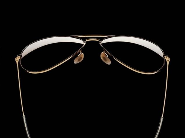 e3c96eede ... reduced get the ray ban aviator solid gold aviator solid gold gold polar  green sunglasses with