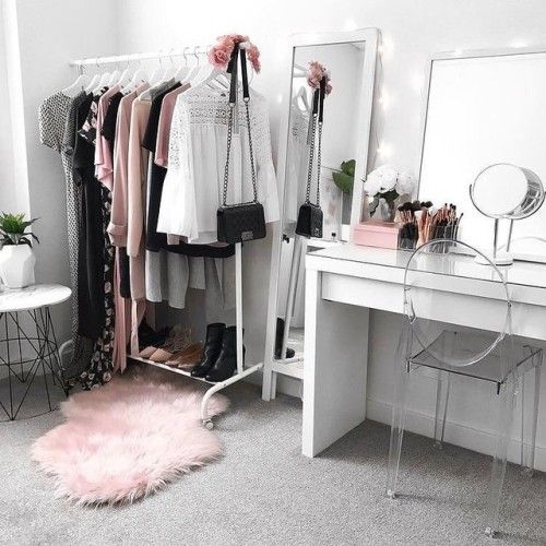 Why Don T You Merchandise Your Closet Like A Retailer Mappcraft Ikea Malm Dressing Table Vanity Room Glam Room