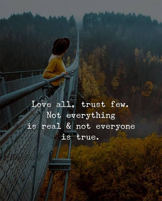 100+ Most Popular Trust No One Quotes | Sayings and Images