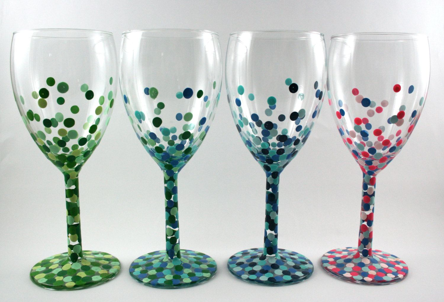 Henry county public library wine glass painting for Type of paint to use on wine glasses