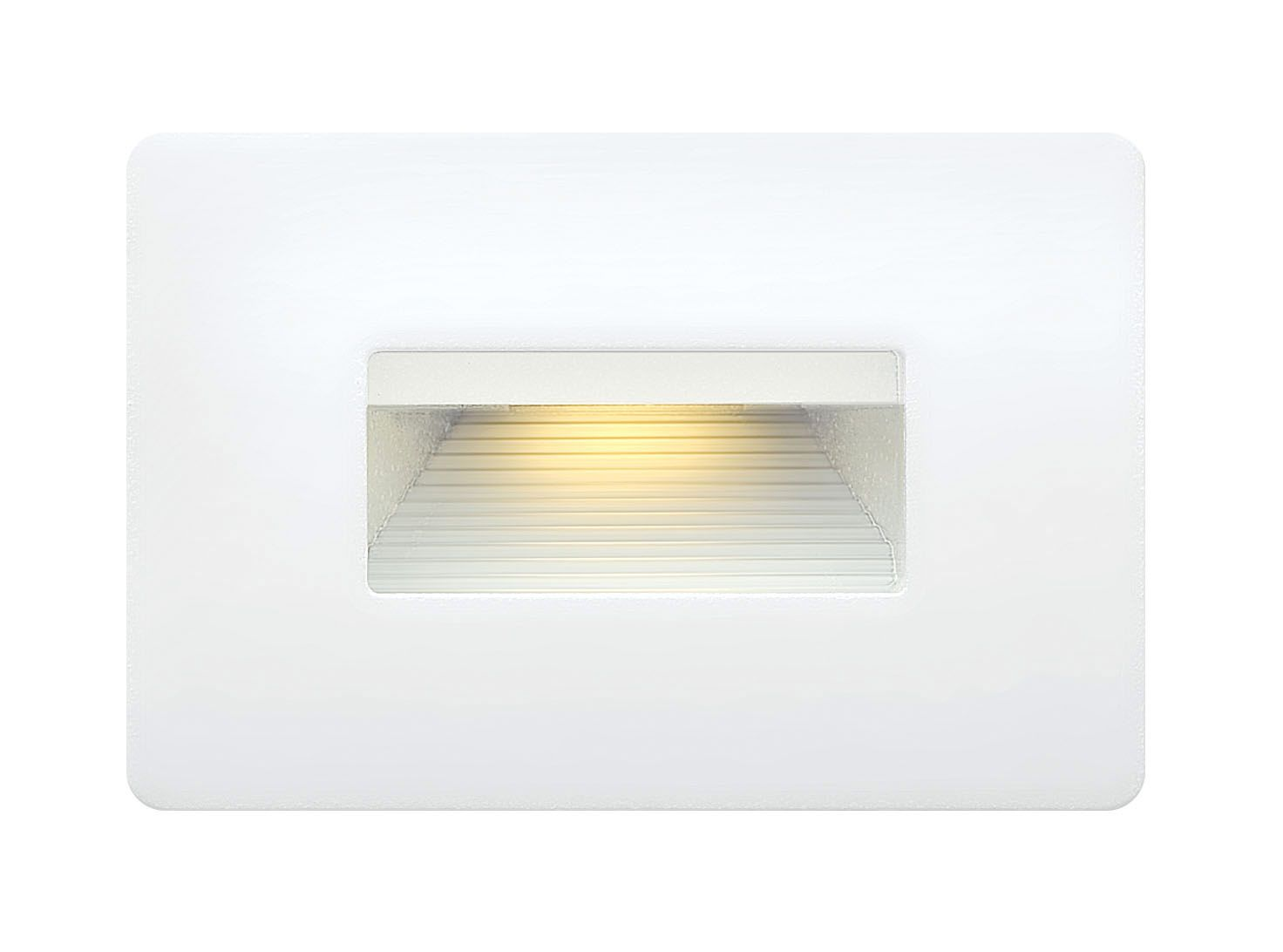 120v Luna Horizontal Step Light By Hinkley Lighting 58508sw Hinkley Lighting Led Step Lights Deck Lighting