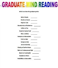 photograph regarding Free Printable Graduation Party Games known as printable commencement social gathering online games - graduate brain examining