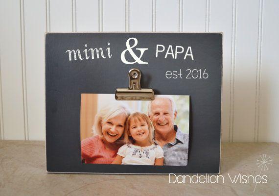 Grandchildren Photo Frame Gift For Grandparents, Custom Picture ...