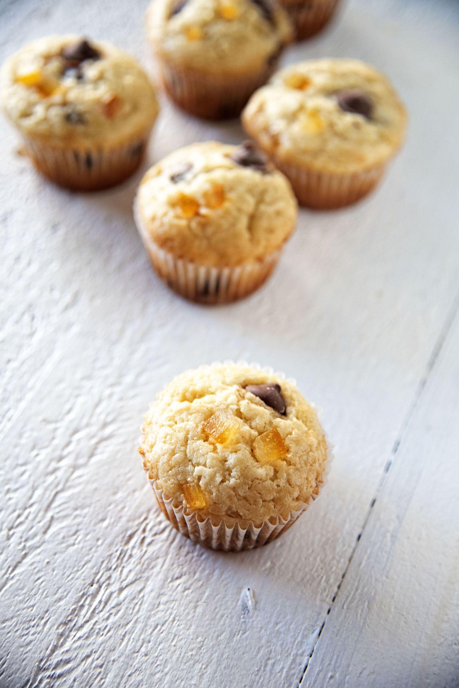 Chocolate Candied Orange Peel Sour Cream Muffins Candied Orange Peel Sour Cream Muffins Chocolate Orange Cookies