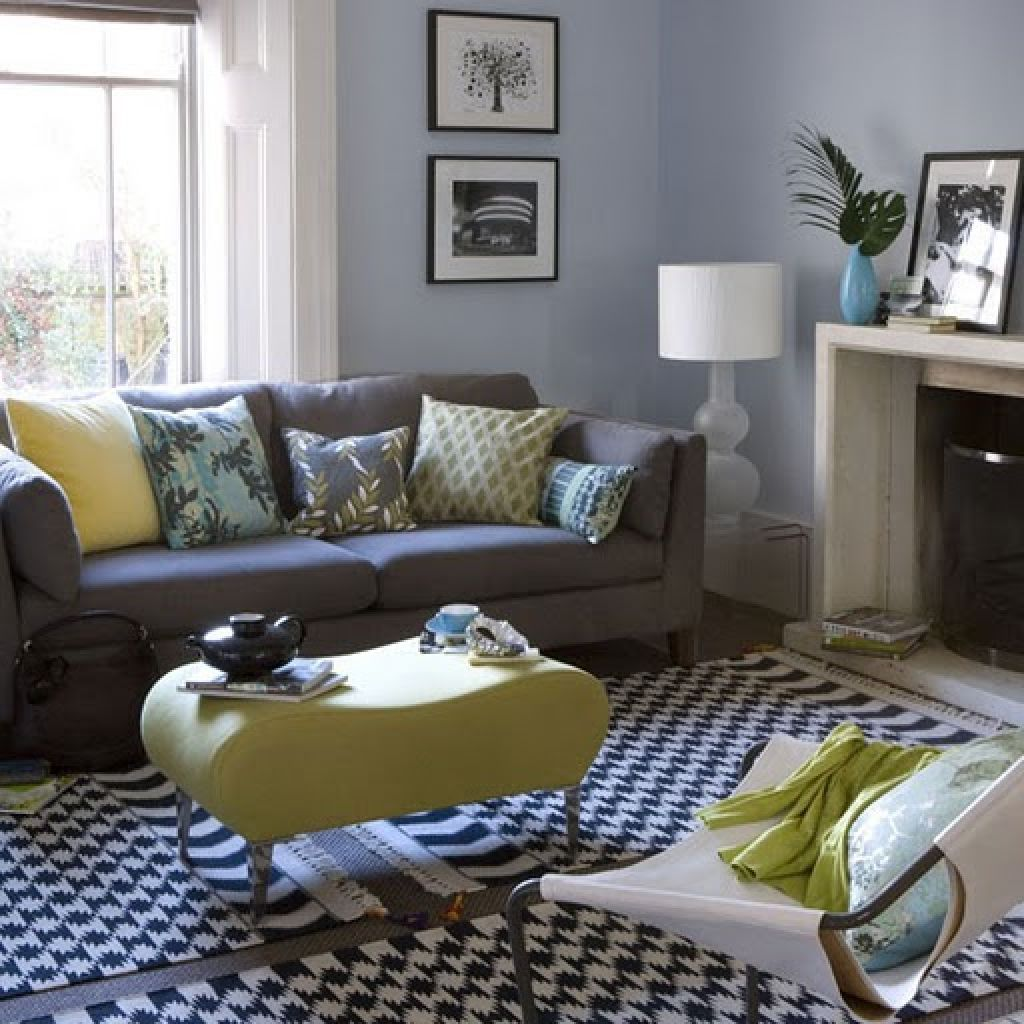 grey and yellow living room design  yellow living room