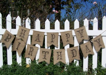 burlap banner for 80th birthday decorations see more decorating and party ideas at one - One Stop Decorating
