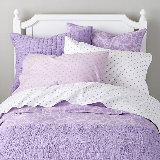 bedding from land of nod polka dot sheets floral duvet cover addie 39 s room ideas pinterest. Black Bedroom Furniture Sets. Home Design Ideas