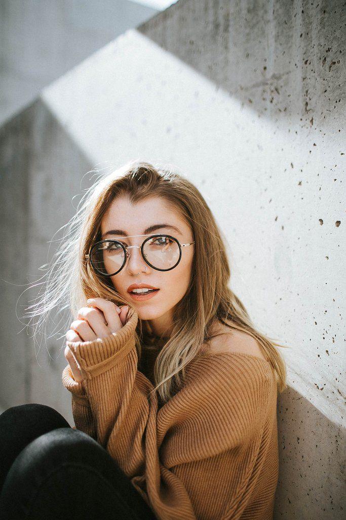 0214afa7f77 Vintage Oval Nose Bridge Wire Clear Non Prescription Glasses - WearMe Pro  Winter Eyewear