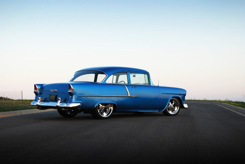 1955 Chevy (Old School) | TRI- FIVE CHEVYS | 1955,1956,1957 Chevy ...