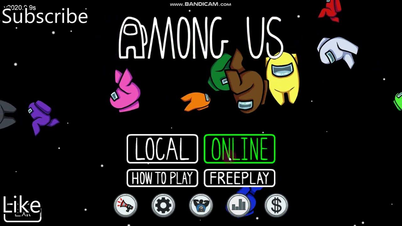 Play Among Us Online Fire Video Free Online Games Game Background