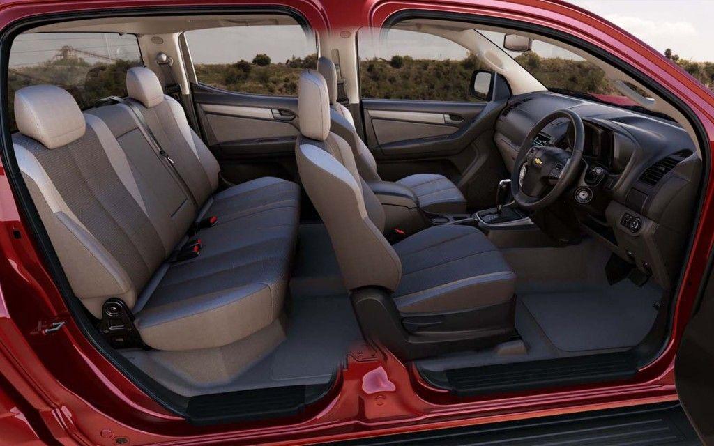 Chevrolet Colorado Crew Cab Interior