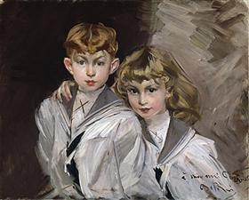 The two children - Giovanni Boldini