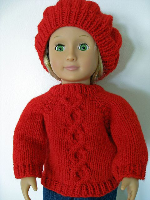 slouch hat and sweater2 by WeGirls2, via Flickr