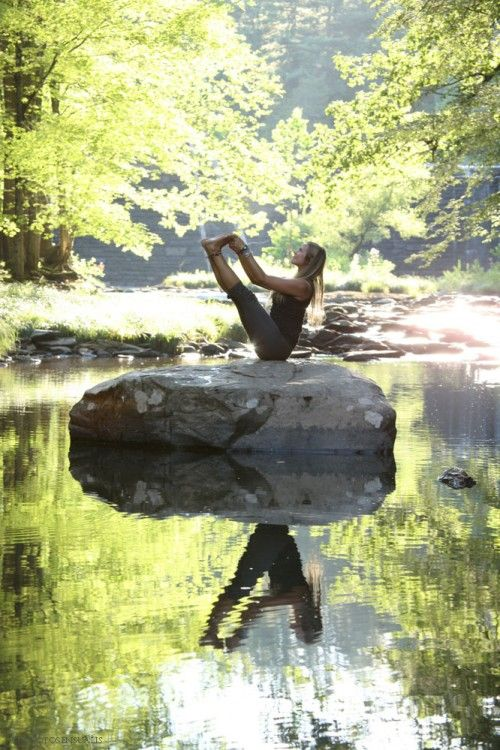 Yoga in nature | Yoga poses, Basic yoga poses, Yoga ...