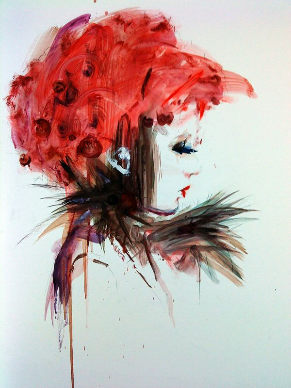 Eccentric Illustration By Floyd Grey Fashion Art Illustration