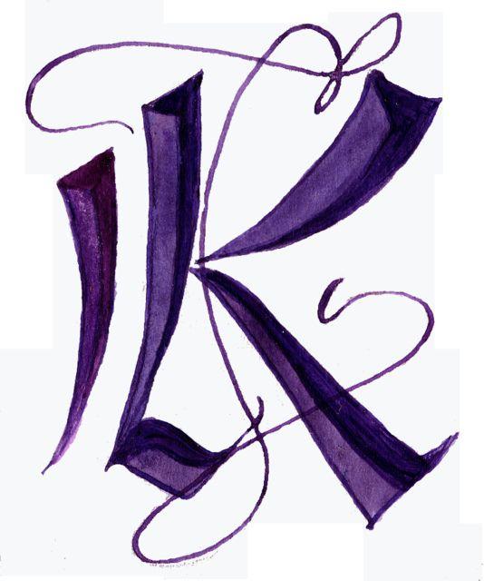 K In Stone Font Style For K Pinterest Lettering Letter K And